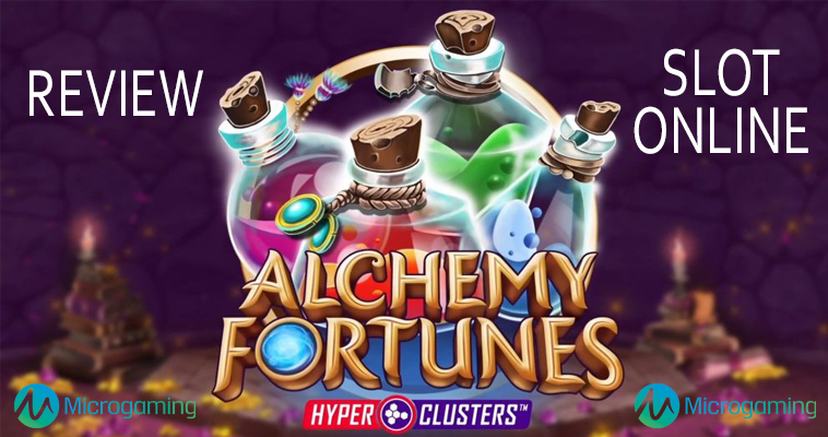 Review Alchemy Fortunes Judi Slot Online Microgaming
